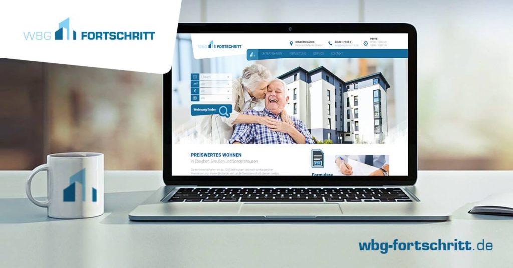 Webdesign Wohnungsgenossenschaft