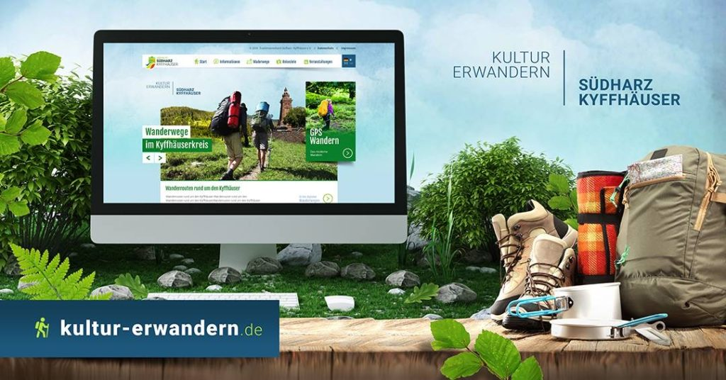 Webdesign Wander Online Portal