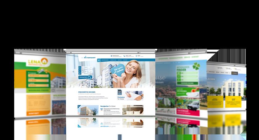 Immobilen Website